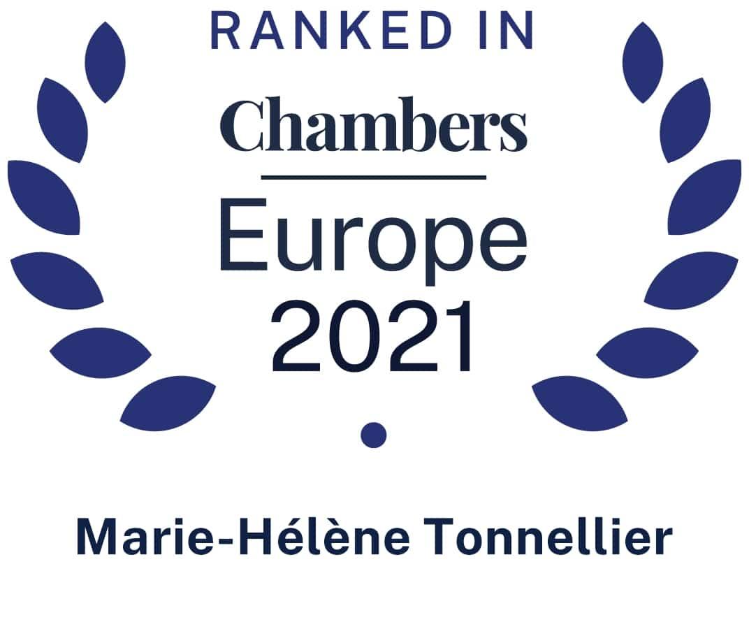 Marie-Hélène Tonnellier in Chambers Europe 2021